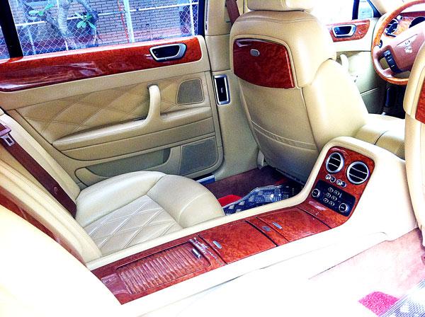 Nội thất xe Bentley