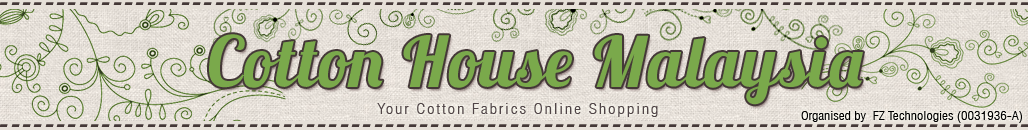 Cotton House Malaysia - Your Online Shopping Cotton Fabrics