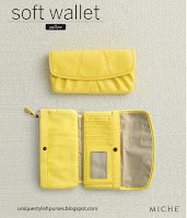 Miche Yellow Soft Wallet