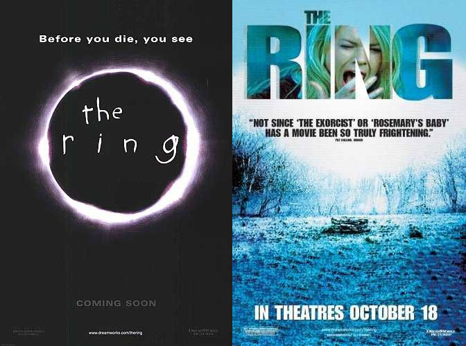 the three important messages in the ring a movie by gore verbinski The ring (stylized as the ring) is a 2002 american supernatural horror film directed by gore verbinski and starring naomi watts, martin henderson, david dorfman, brian cox and daveigh chase it is a remake of the 1998 japanese horror film ring based on the novel of the same name by koji suzuki.