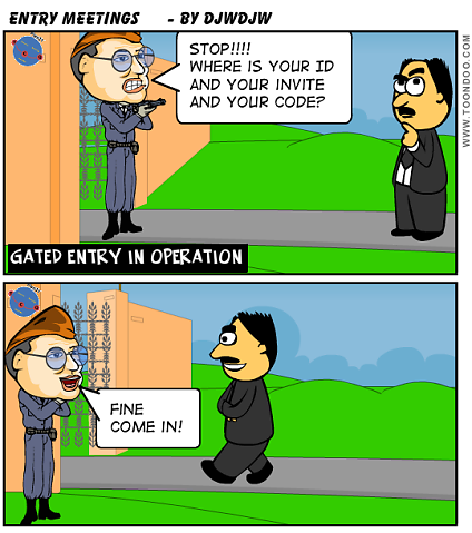 Projects - Gated Entry in Operation