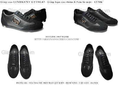 Giày tăng chiều cao Linh Kent GT190. 6