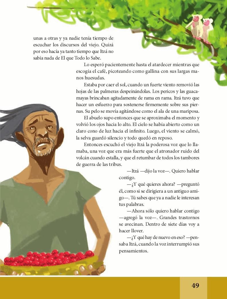 No era el único Noé - Español Lecturas 6to 2014-2015