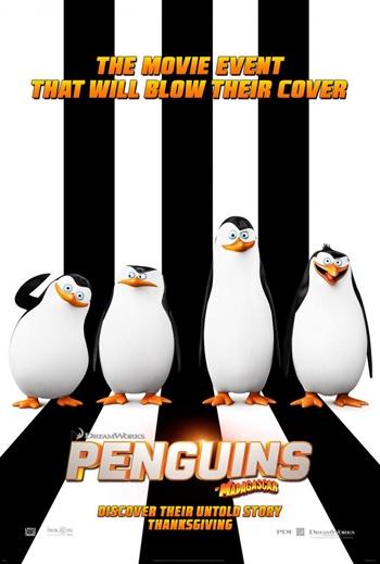 Los Pingüinos de Madagascar DVDRip Latino