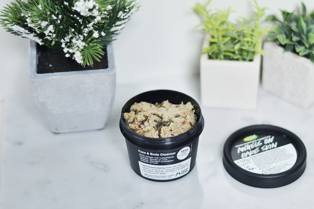 Lush, angels on bare skin, face, gezicht, scrub, reiniging, review, fashion blogger, belgium, belgische fashion bloggers