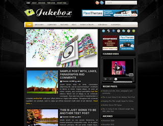 WordPress-Template Jukebox