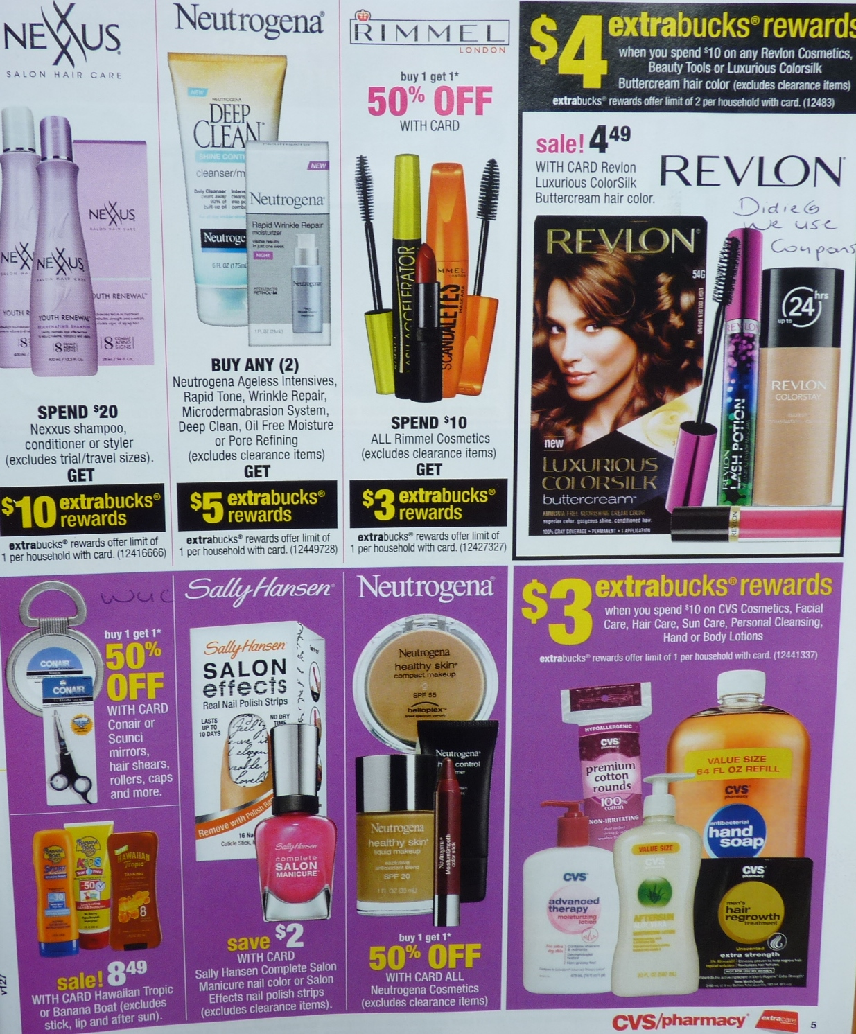 simply cvs cvs ad scan preview for the week of 6 9 13