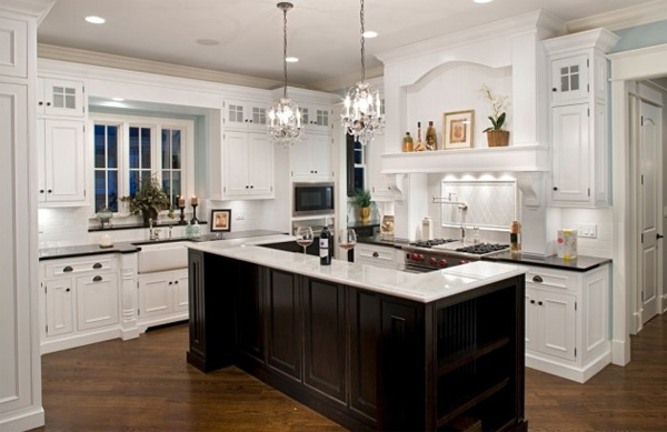 Plan Purchase Kitchen American Style, American Style Decor