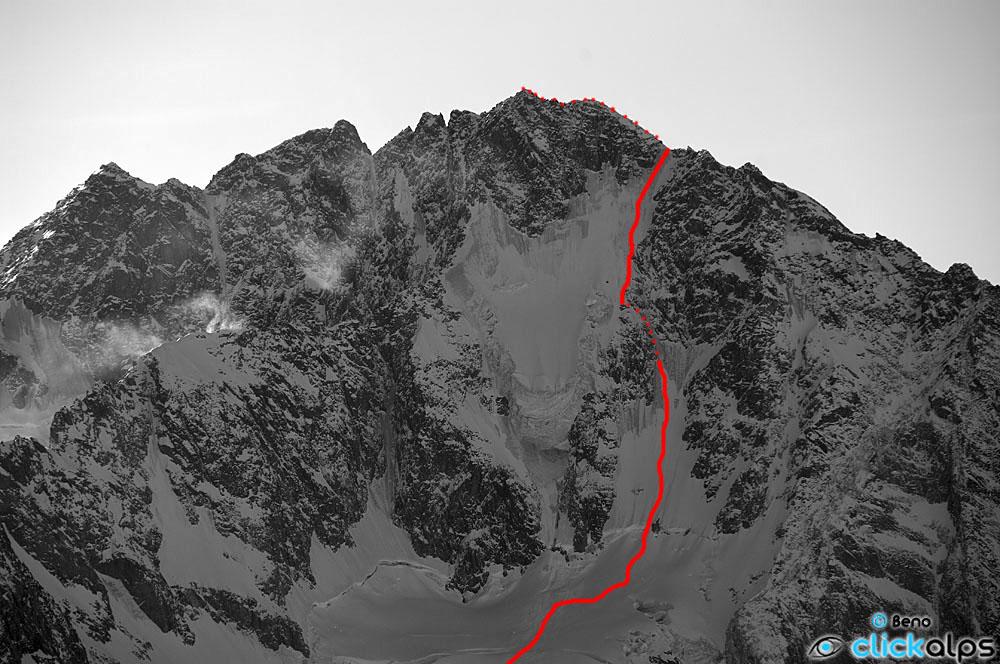 Monte Disgrazia - parete nord