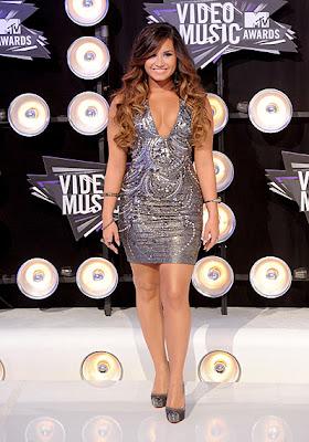 10 Best Fashion at MTV VMA 2011: Demi Lovato