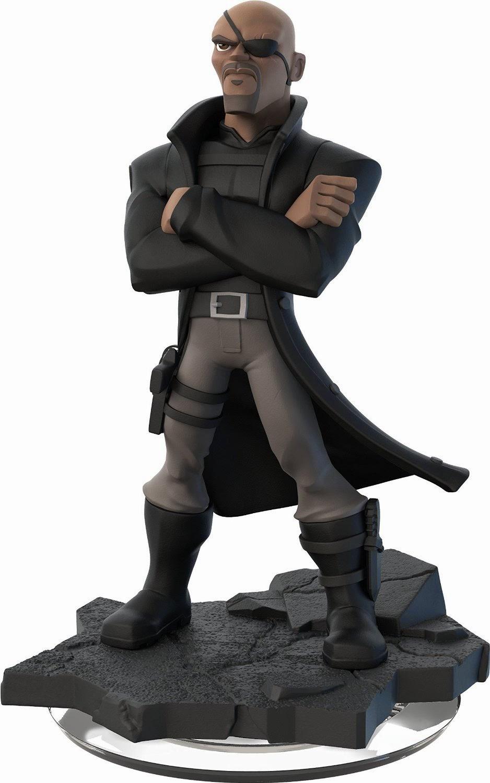 TOYS : JUGUETES - DISNEY Infinity 2.0 Figura Nick Fury - Furia : Producto Oficial | A partir de 7 años