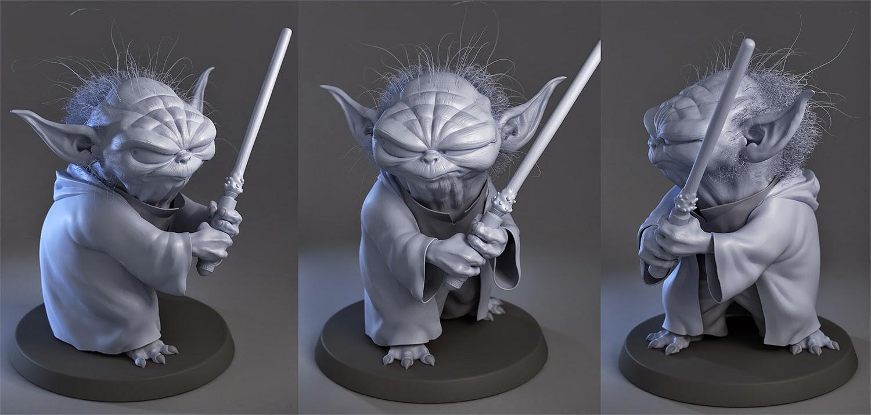Yoda Character Design : The ronkers luis gomez guzman yoda