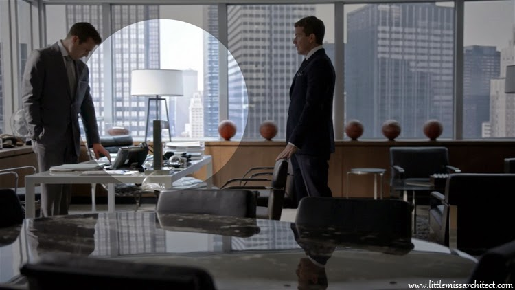suits series, designer lamps, office interior