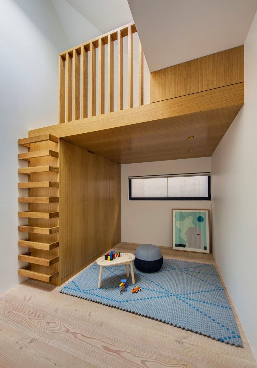 val rie adoooore l 39 chelle pour acc der la mezzanine quelle belle id e. Black Bedroom Furniture Sets. Home Design Ideas
