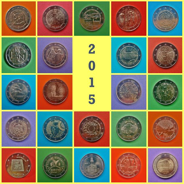 2015 2 Euros