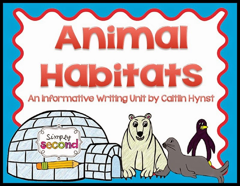 http://www.teacherspayteachers.com/Product/Animal-Habitats-Informative-Writing-Unit-581340