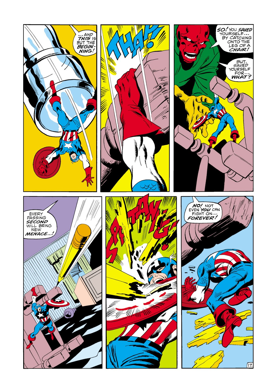 Captain America (1968) Issue #115 #29 - English 18