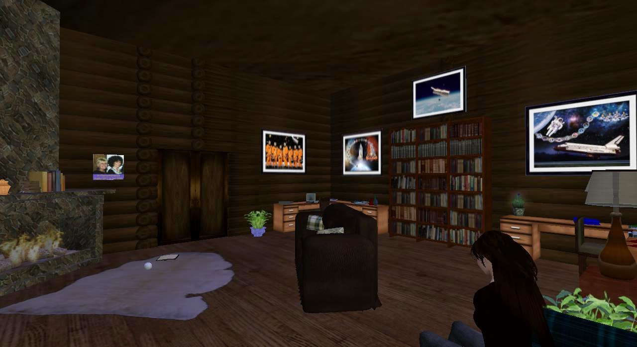 Space Room in Virtual Cabin Retreat
