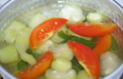 Resep Membuat Sayur Oyong Bening Enak dan Nikmat