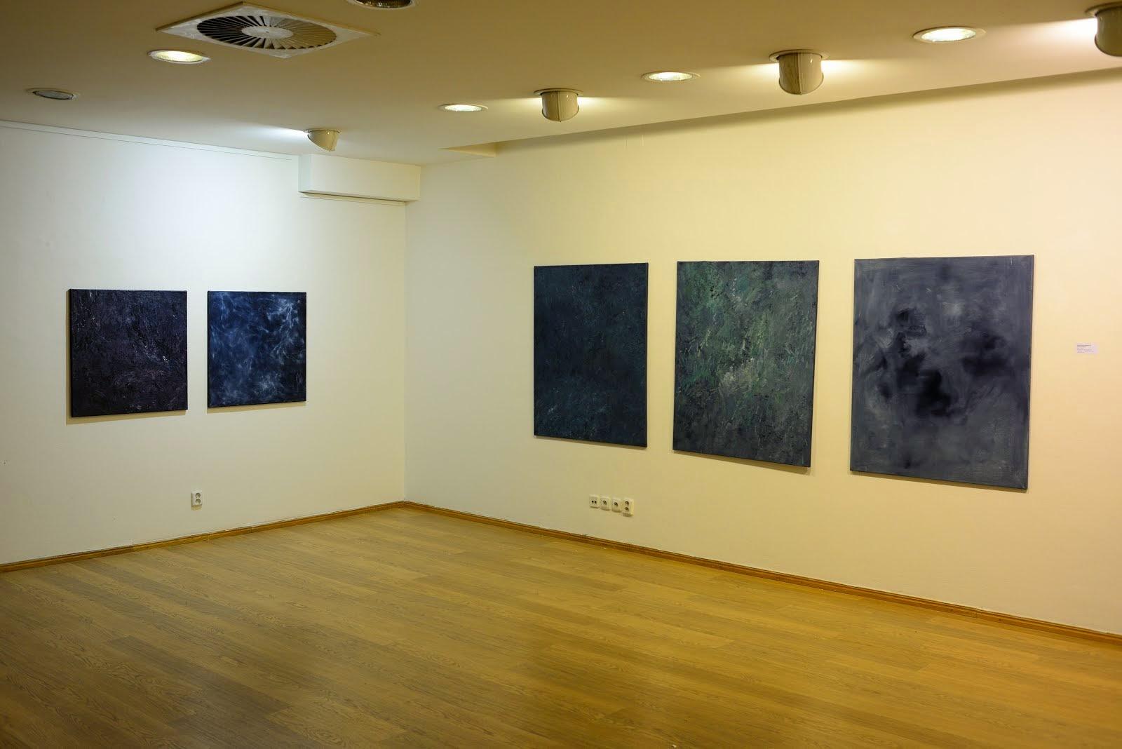 pohled do instalace výstavy - GALERIE KRITIKŮ, PALÁC ADRIA