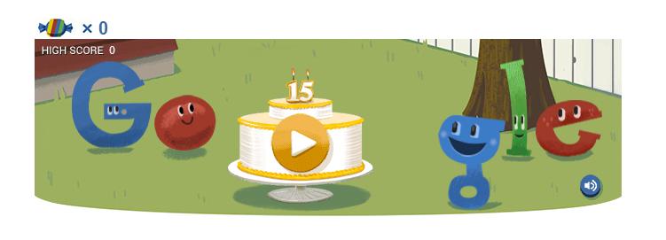 Google Pinata Game Doodle