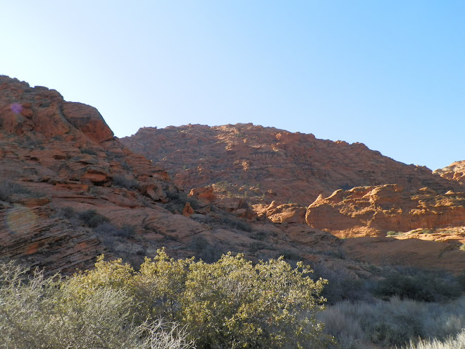 Beautiful scenery in nearby Snow Canyon