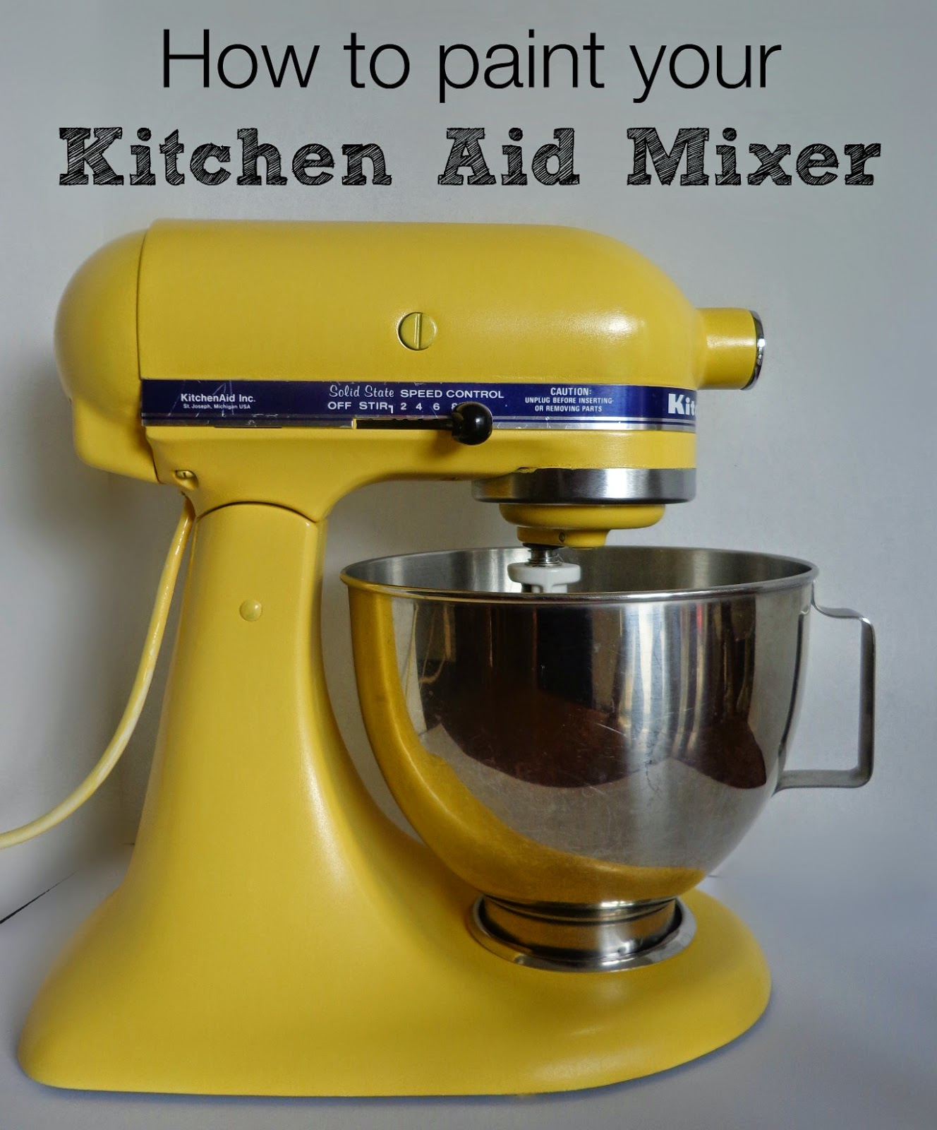 http://www.hackedbykate.com/2014/06/how-to-paint-your-kitchen-aid-mixer.html
