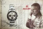 ROLEX Mixed Media by Cay