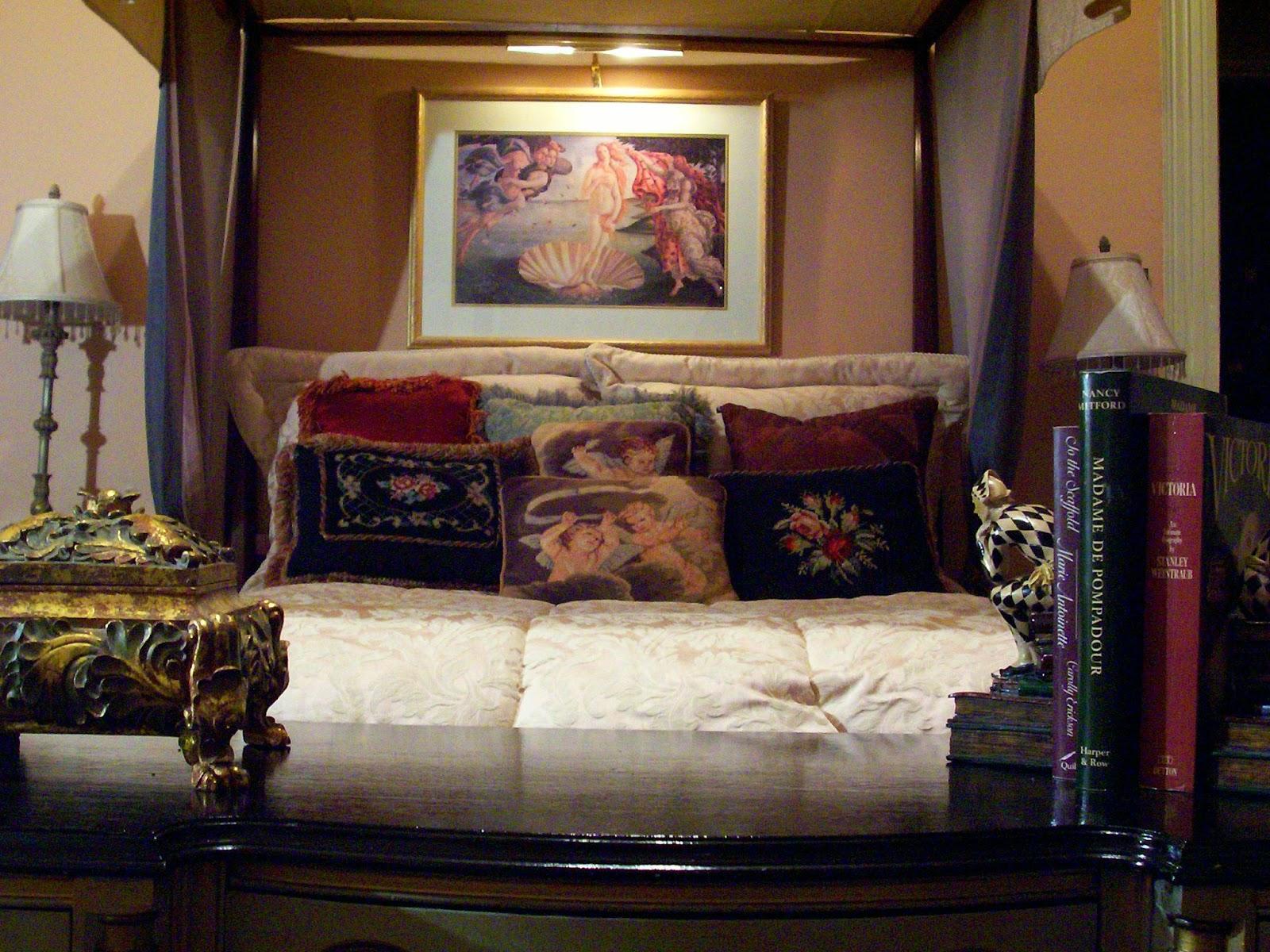 Terra Cotta Bedroom In My Circa 1900 Home title=
