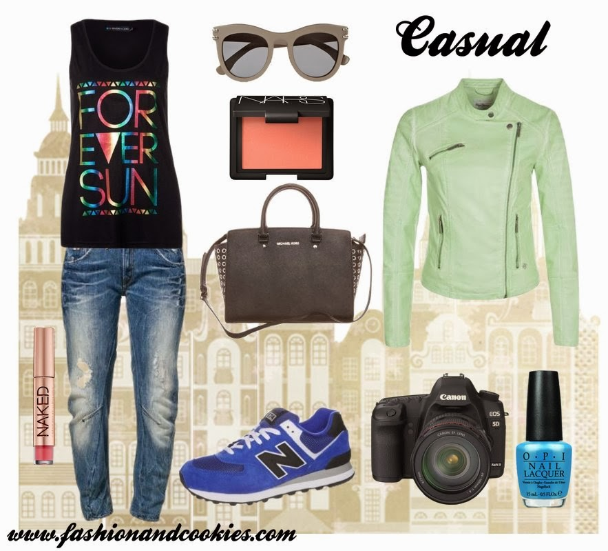 casual mood fashion set, Fashion and Cookies, Zalando selection, fashion blogger
