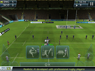 Rugby Nations 13 Android Game GAMEPLAY OF THE REAL-LIFE