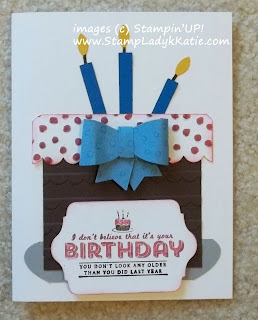 Demonstrator Trade Card made with Stampin'UP! Sale-a-bration 2014 product