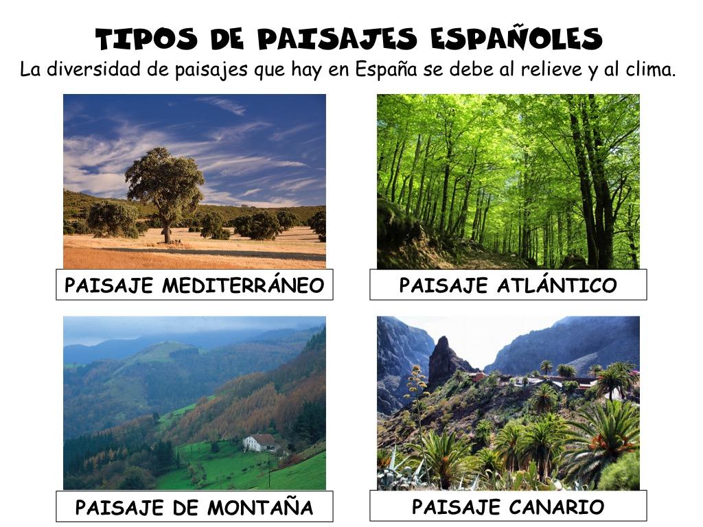 Blog del aula de 4 de primaria enero 2017 - Tipos de paisajes ...