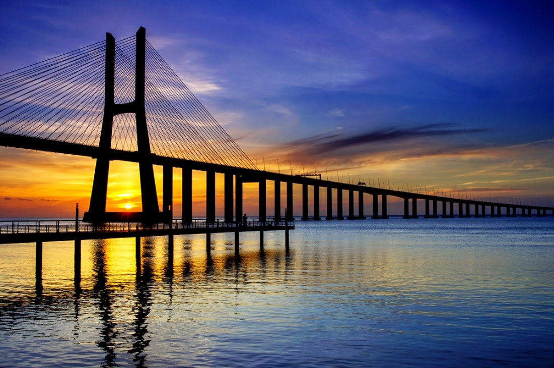 Ponte Vasco da Gama em Lisboa