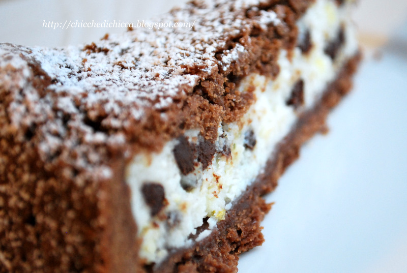 Eccezionale Le chicche di chicca: Crostata al Cacao con Ripieno di Ricotta MY14