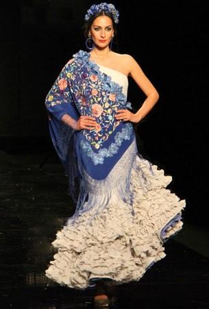 traje flamenca Ana Moron 2015