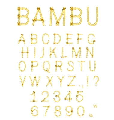 Free Bamboo Fonts