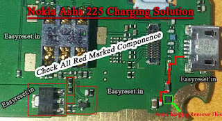 Nokia Asha 225 dual sim Not Charging
