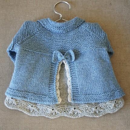 Charlee Baby Girl Jacket/Coat - Free Pattern