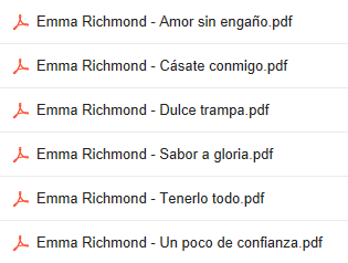 Descargar Novelas De  Emma Richmond  En PDF