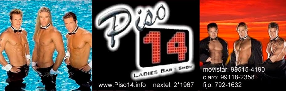 "PISO14 ÚNICO LADIES BAR ""SUMMER NIHGT EXCLUSIVA FIESTA EN PISO 14  CON STRIPPERS CUEROS"" Show's de"