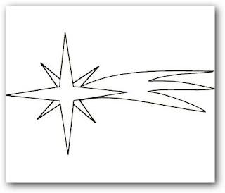 Dibujos para colorear estrella fugaz dibujos para colorear for Estrella fugaz navidad