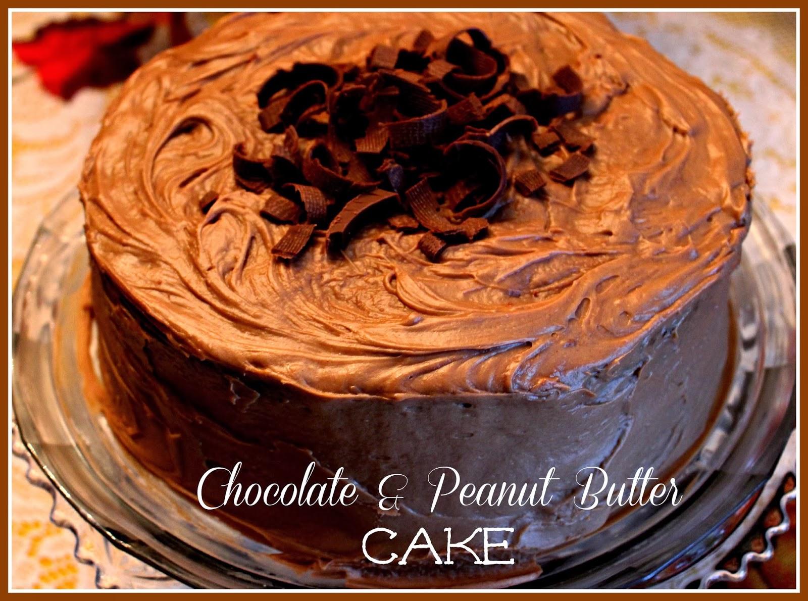 Sweet Tea and Cornbread: Mama's Chocolate & Peanut Butter Cake!