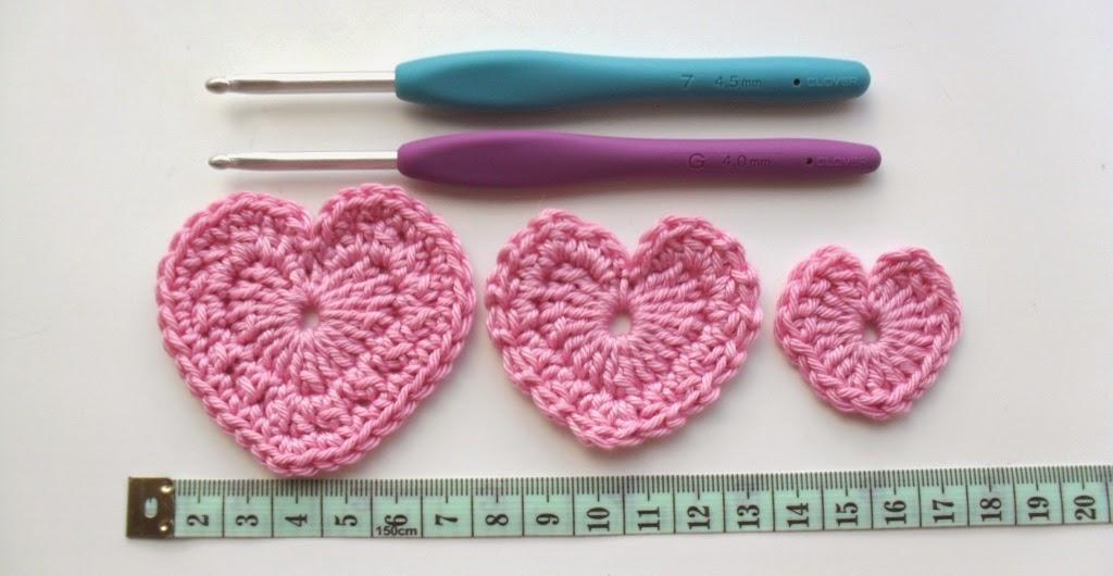 Craigloves2crochet A Trio Of Perfect Little Love Hearts