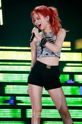 EXID Solji Dream Concert 2015