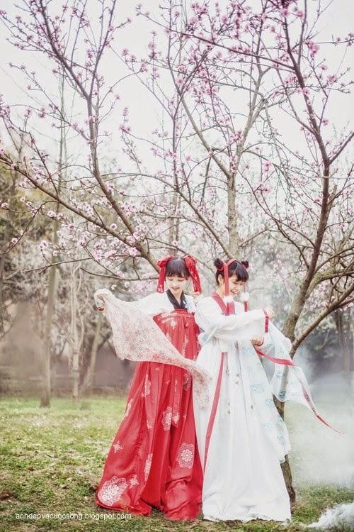 Thiếu nữ Hàn Quốc xinh đẹp với mùa xuân 2