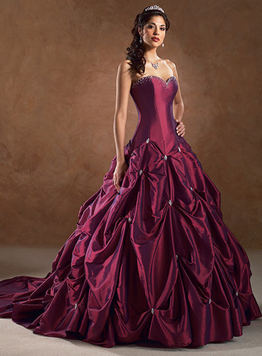 Wedding Dresses Color Red : Email this share to twitter facebook