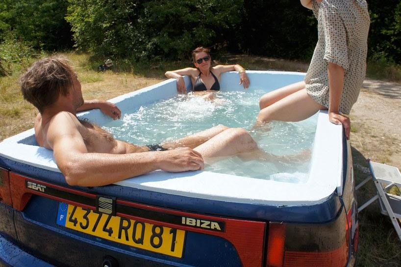 BBC Car Show Bathtub Cool Seat Ibiza Sedan - Fun car show ideas
