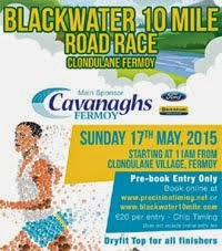 Blackwater 10 mile nr Fermoy...Sun 17th May 2015