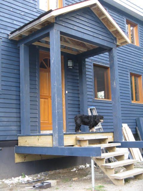 notre maison galerie avant et patio